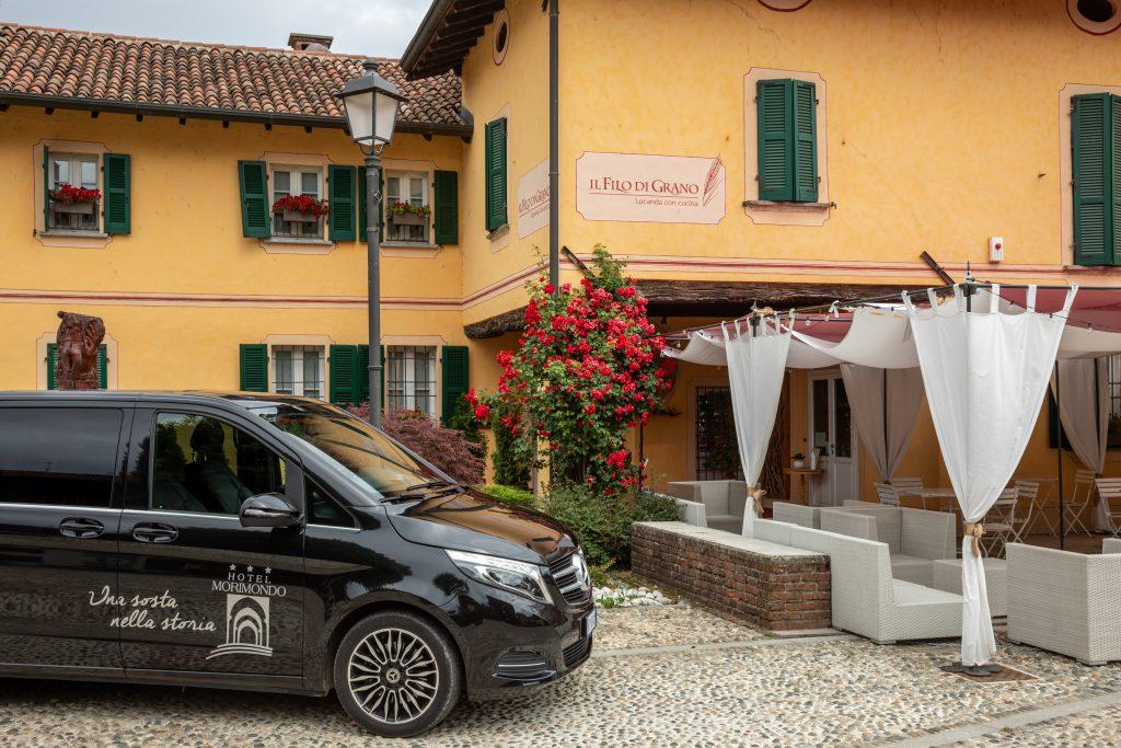 dall'Hotel Morimondo alla Caremma con il Caremma Express